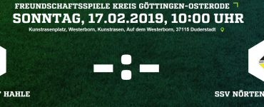 Testspiel gegen SSV Nörten-Hardenberg